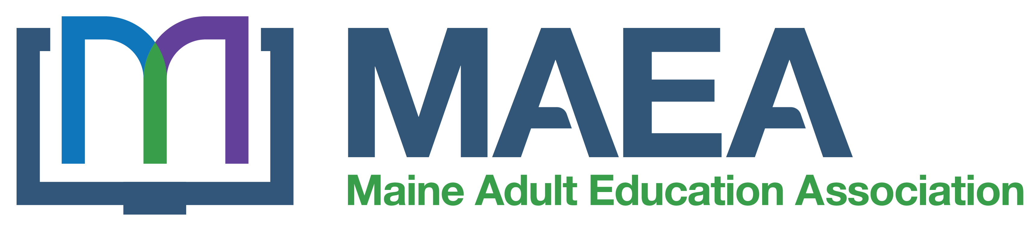 Maine Adult Education Association Logo